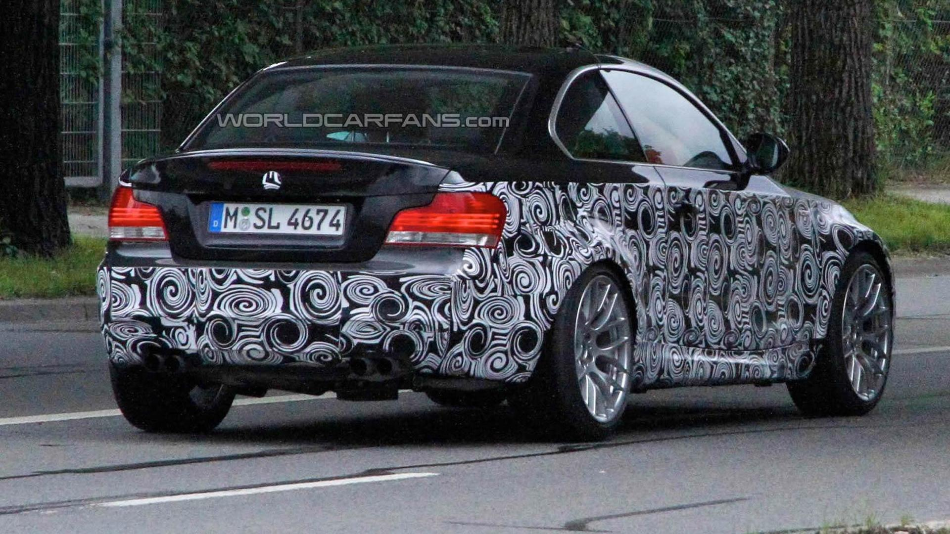 Bmw 1 Series M Spied Sporting Quad Exhausts