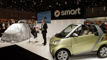 smart fortwo BRABUS electric drive at Geneva