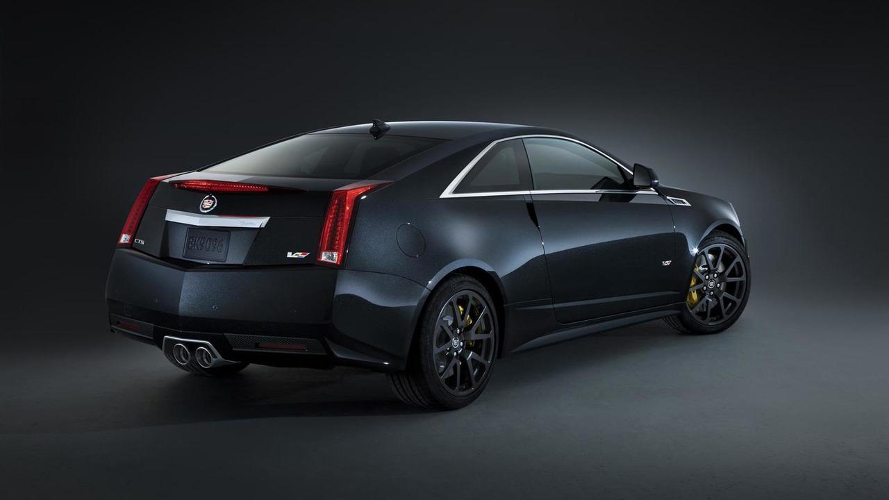 Cadillac Cts V Coupe Black Diamond Edition Motor1 Com Photos
