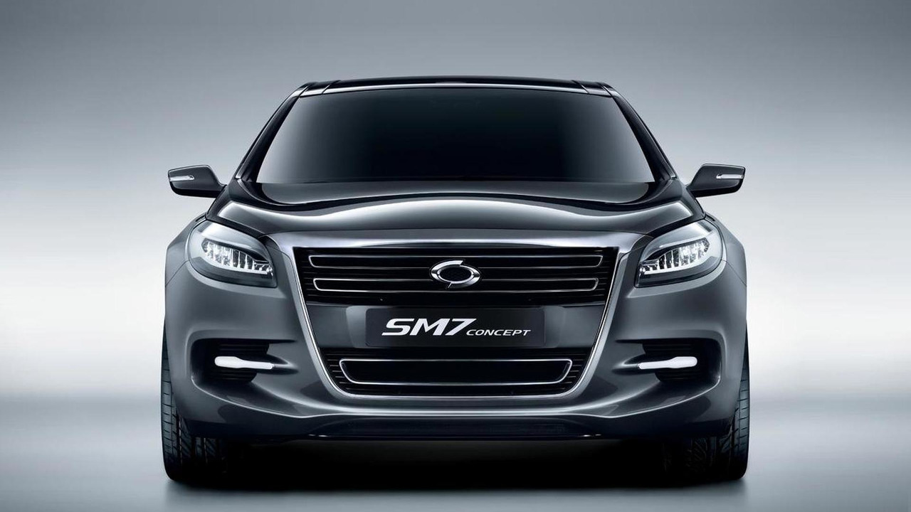 Renault Samsung SM7 concept 1.4.2011