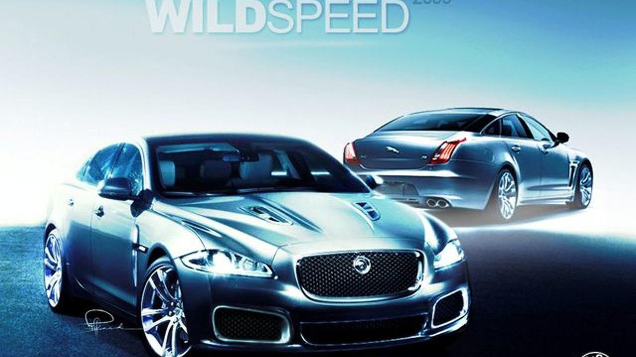 Jaguar XJR speculative artist renderings - 640