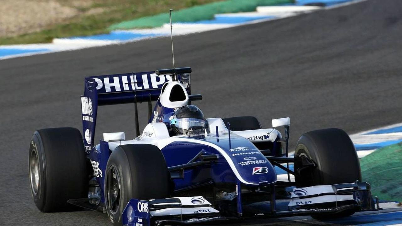 Nico Hulkenberg (GER), WilliamsF1 Team - Formula 1 Testing, Jerez, 03.12.2009 Jerez, Spain
