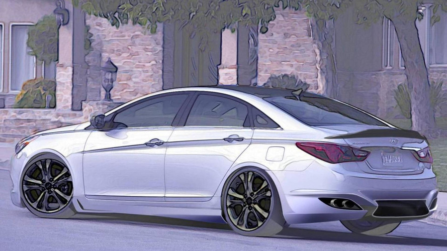 Hyundai's supercar inspired Sonata Turbo previewed for SEMA