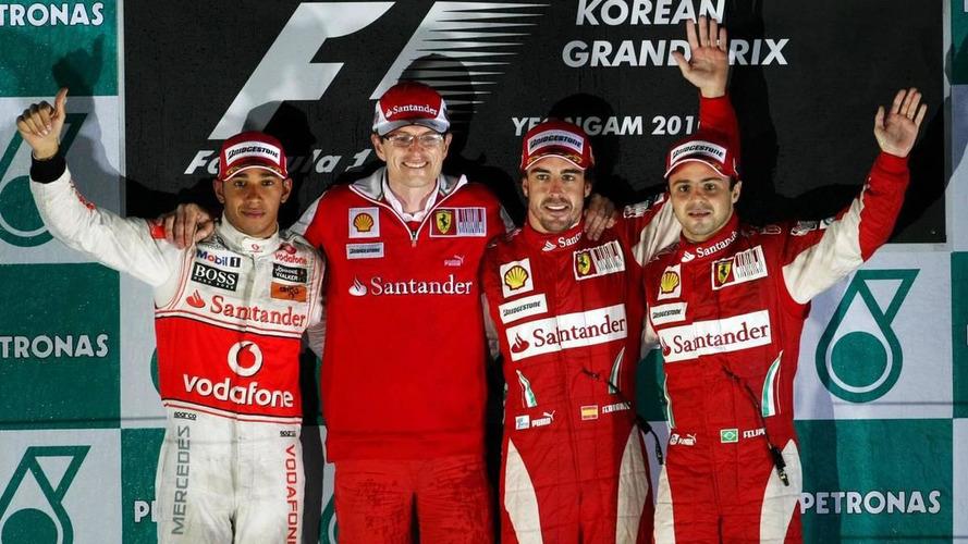 2010 Korean Grand Prix - RESULTS