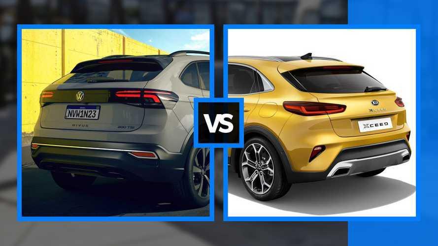 Volkswagen Nivus vs Kia XCeed, il confronto tra SUV coupé da città