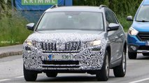2021 Skoda Kodiaq facelift spy photos