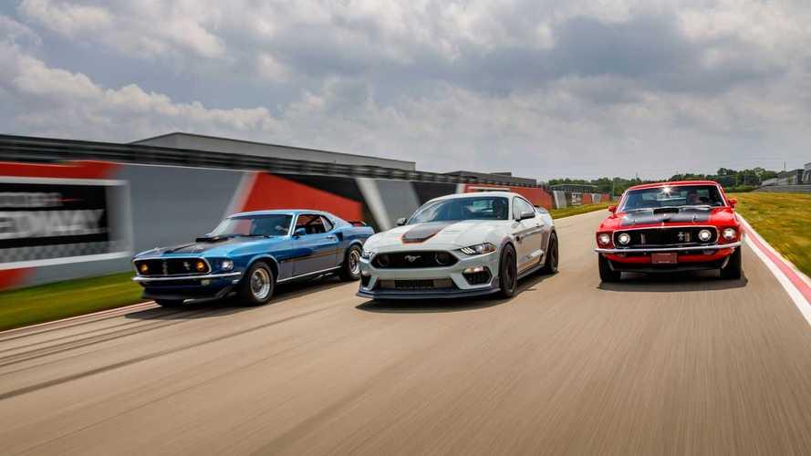 A Bullitt erejével és a Shelbytől kölcsönvett elemekkel debütált az új Ford Mustang Mach 1