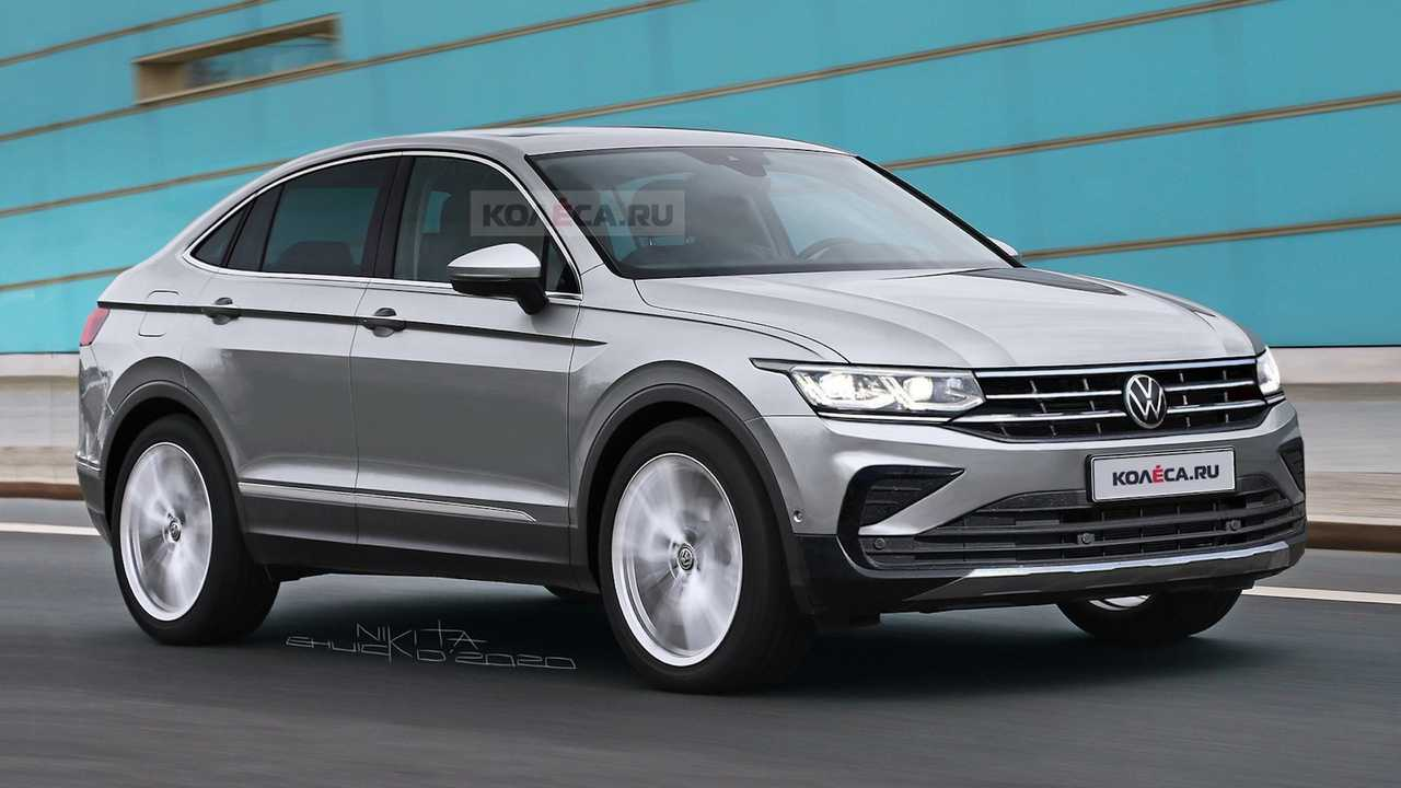 VW Tiguan X Coupe rendering: Kolesa