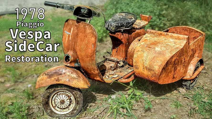 Is This The Rustiest Vespa Restoration Video Series Ever?