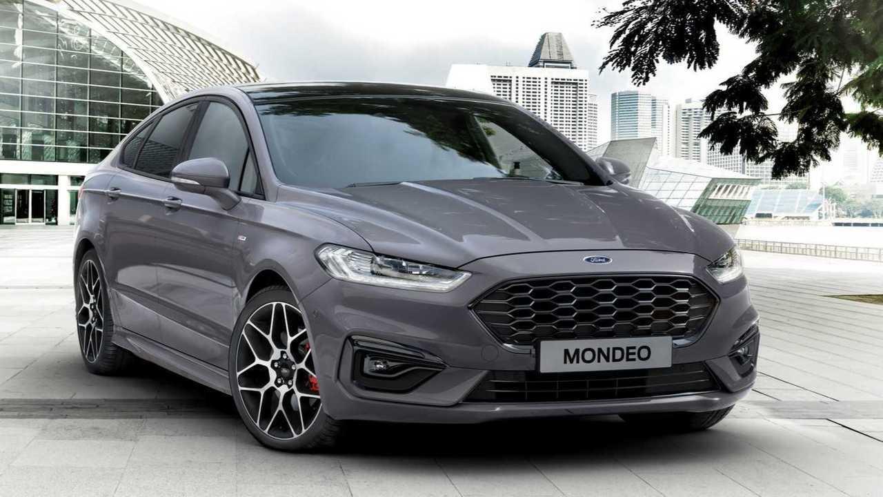 El Ford Mondeo desaparece