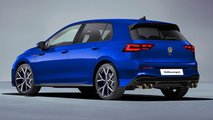 2021 VW Golf R rendering