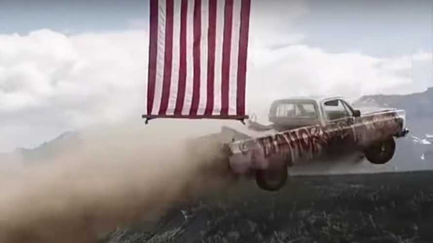 These Alaskans Celebrate Independence Day By Launching Cars Off A Cliff