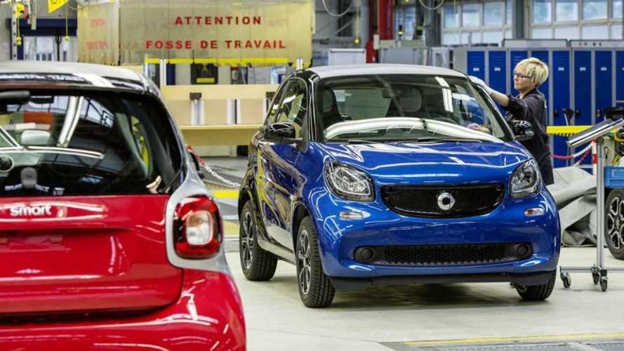 Daimler souhaite vendre son usine française produisant actuellement des Smart