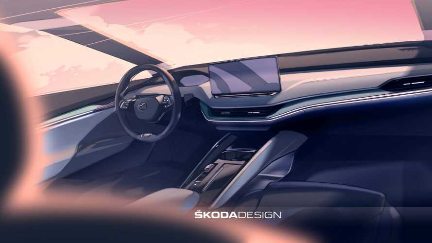 Skoda Reveals Interior Rendering Of Enyaq iV: Looks Like VW ID.4
