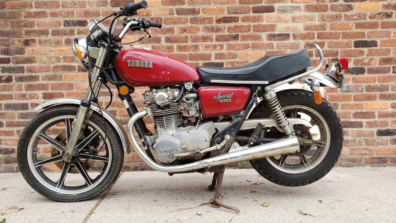 1979 Yamaha XS650SF