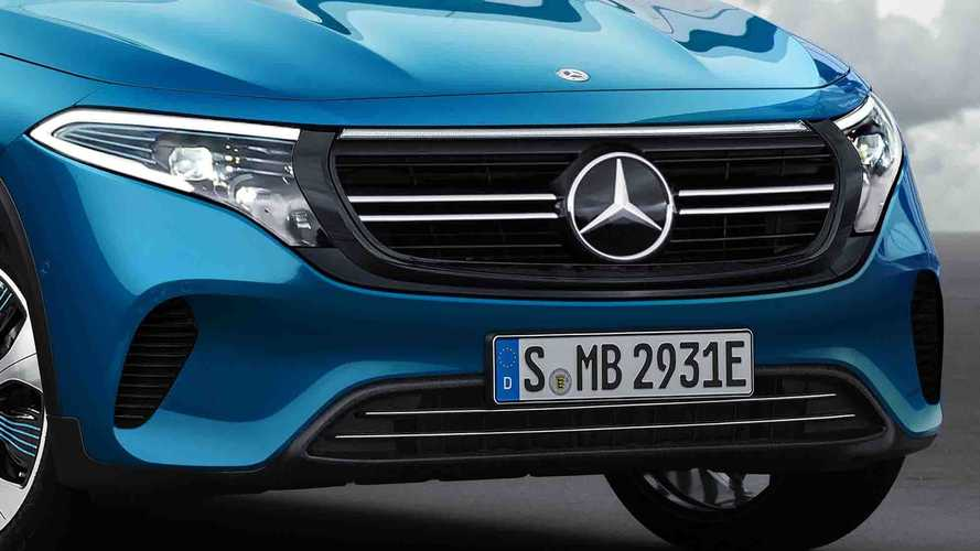 Mercedes-Benz EQA 2021, render de Motor1.com