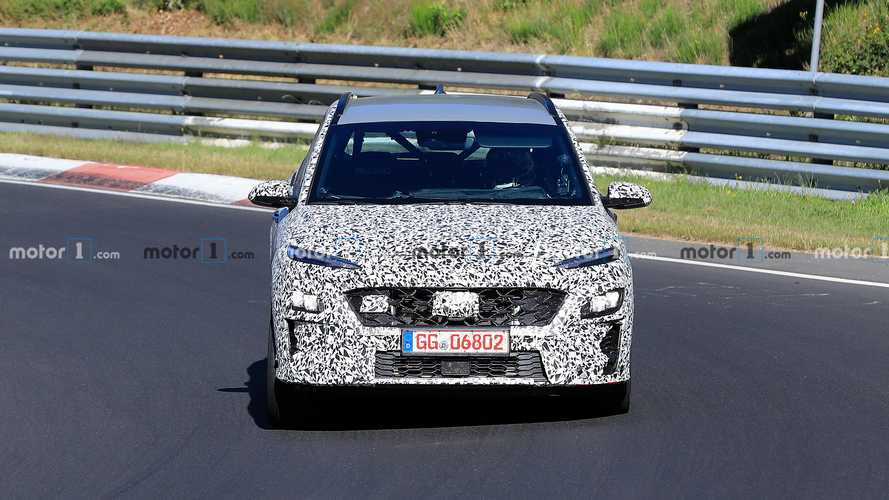 Hyundai Kona N new spy photos
