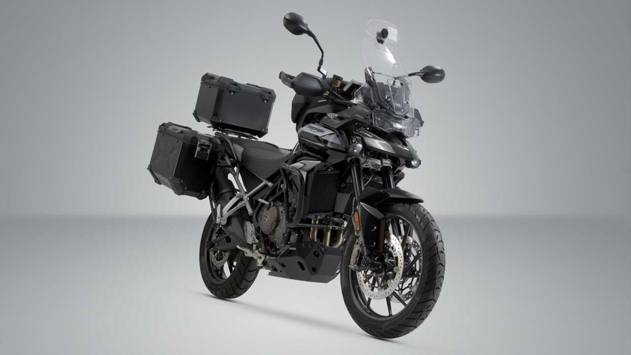 Triumph Tiger 900 With SW Motech Luggage