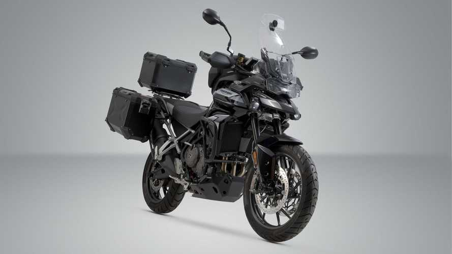 SW-Motech Outfits The Triumph Tiger 900