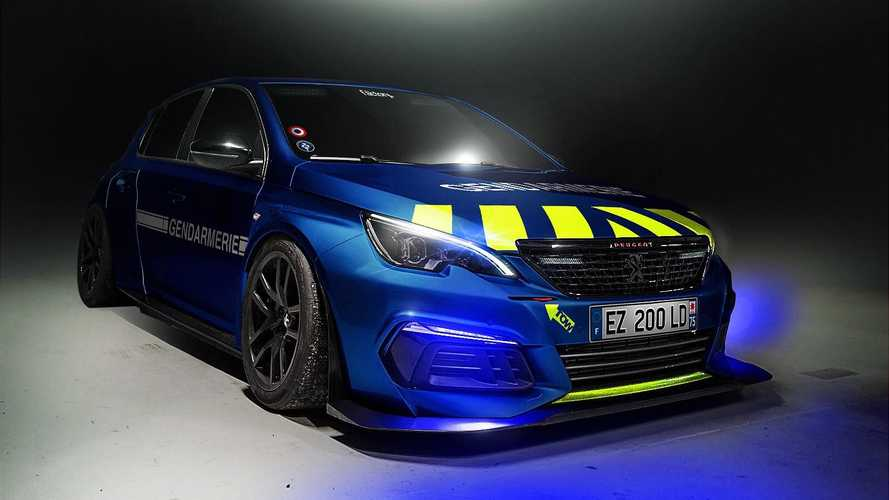 Bientôt une Peugeot 308 RC pour la gendarmerie ?