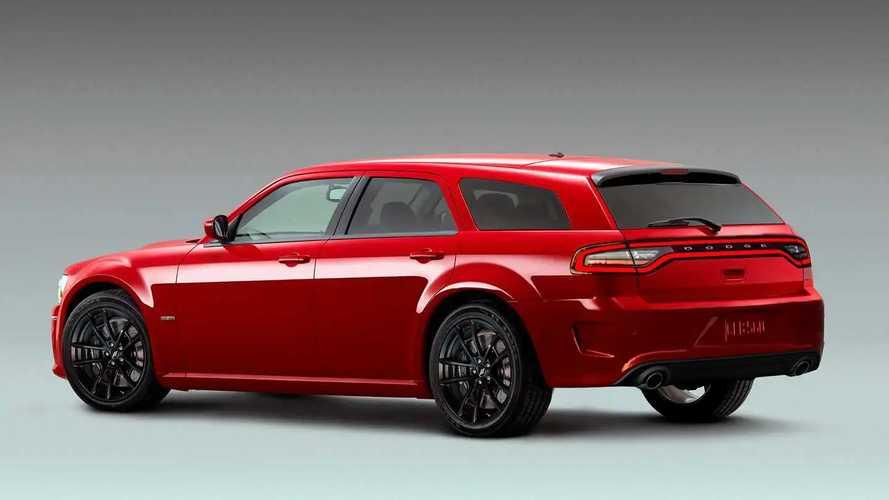 Dodge Charger Daytona Magnum renderings