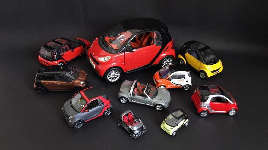 14 моделей Smart из личной коллекции: от City до Crossblade