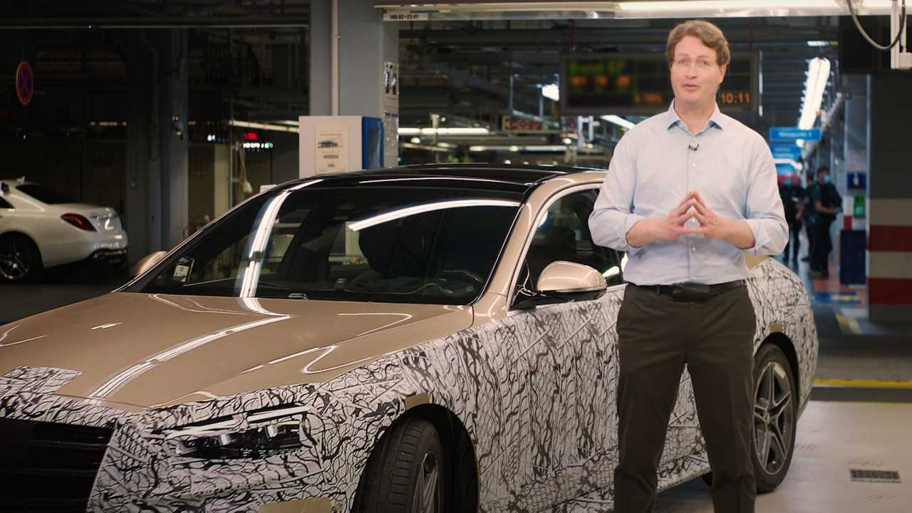 Mercedes S-osztály ugratott