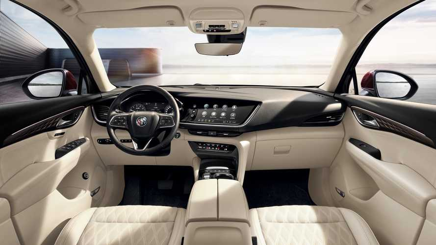 2021 Buick Envision Reveals Sophisticated Interior In Official Photos