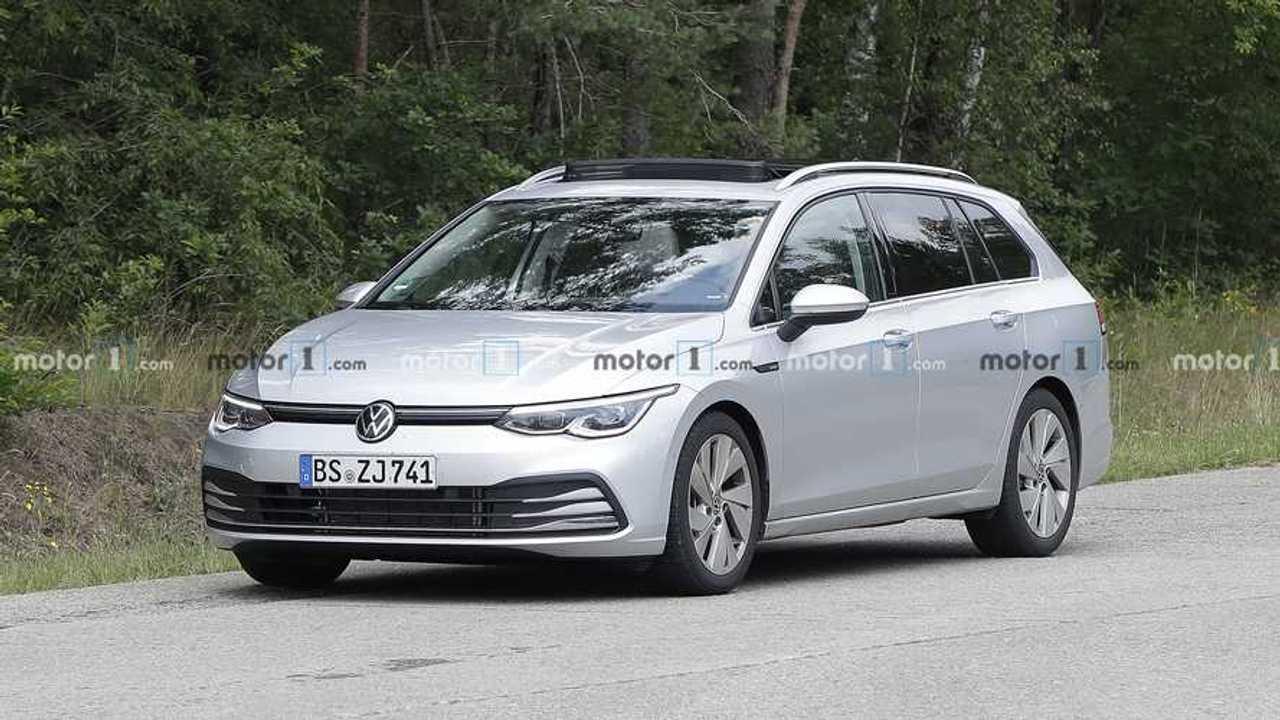 2021 VW Golf wagon spy photo - 5077773