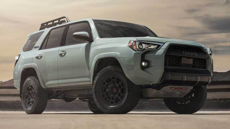 2021 Toyota TRD Pro Lineup Gets New Color, Other Upgrades