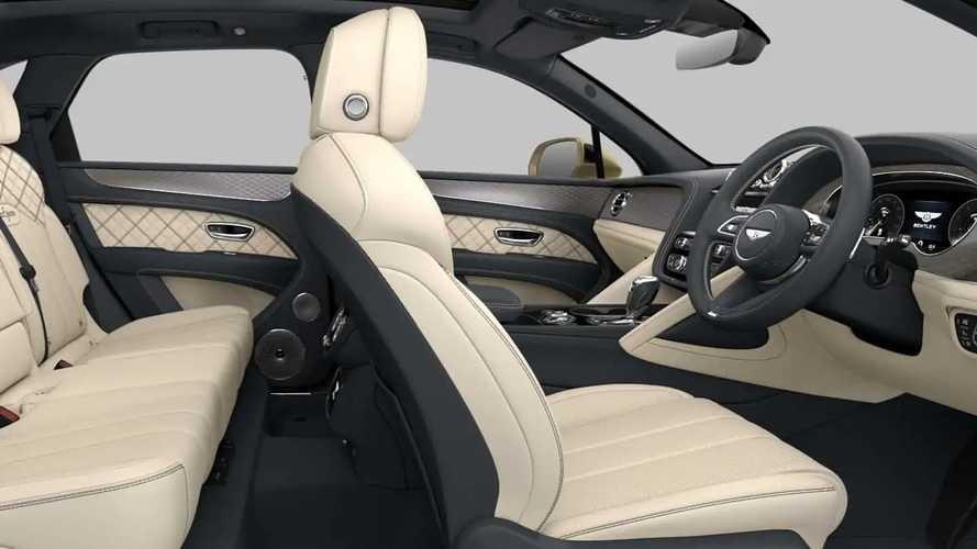 2021 Bentley Bentayga online configurator
