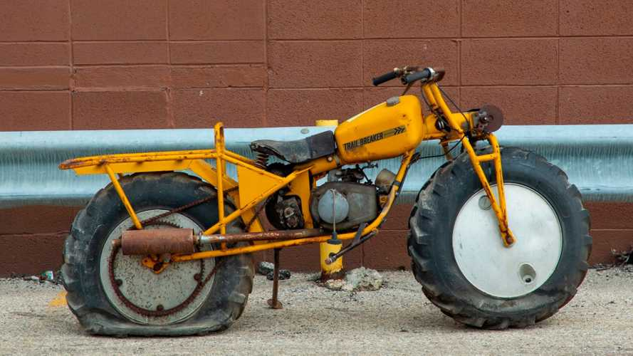 This Vintage Rokon Trail-Breaker Offers Two-Wheel-Drive