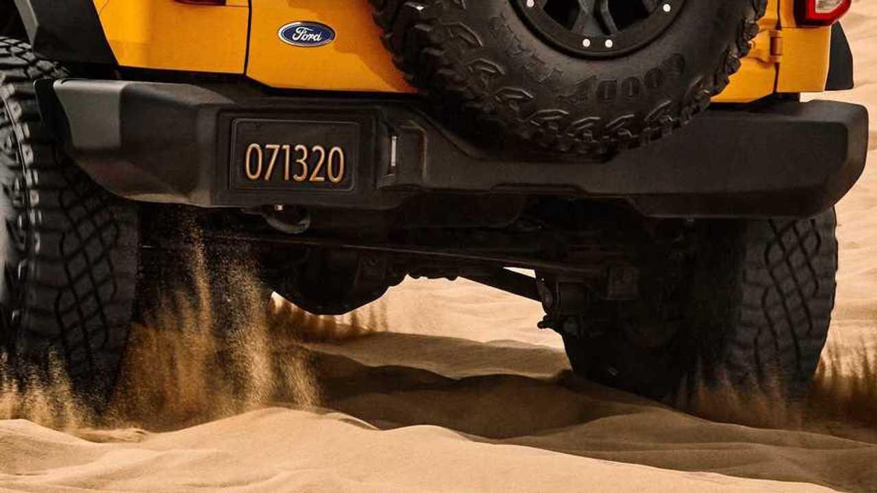 2021 Ford Bronco Arka Teaser
