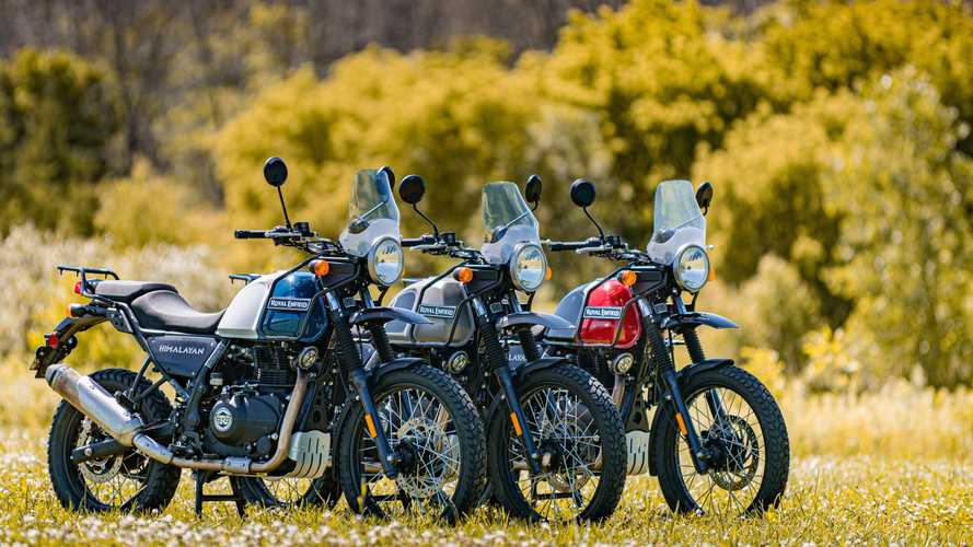 2021 Royal Enfield Himalayan North America