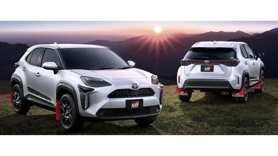 El Toyota Yaris Cross estrena llamativos accesorios de Gazoo Racing
