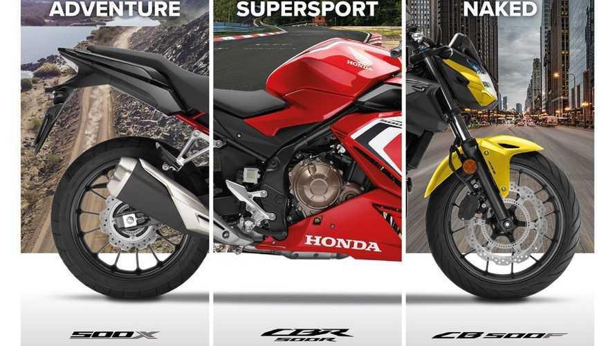 Nuove Honda CB500F, CBR500R, CB500X omologate Euro 5