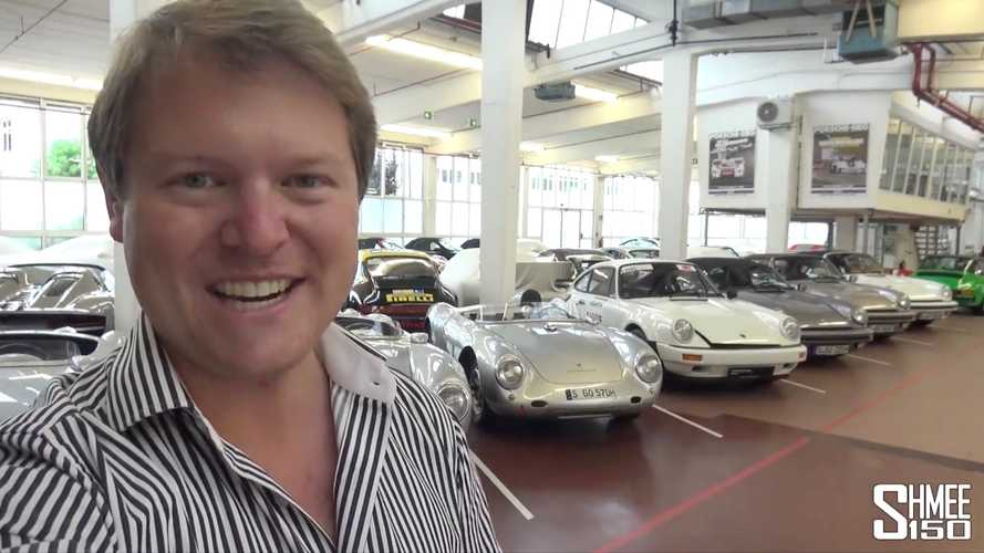 Porsche Gives Shmee Special Access To Where It Keeps The Rarest Cars
