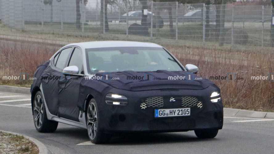 Genesis, makyajlı G70 Sedan'ı Nürburgring'de test ediyor