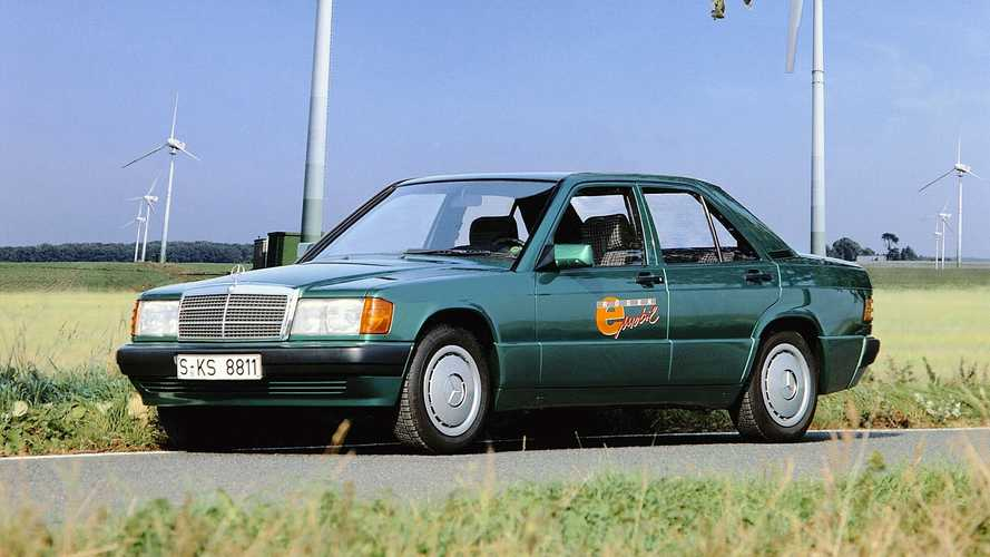 Mercedes-Benz 190 E Elecktro: así era la movilidad eléctrica en los 90
