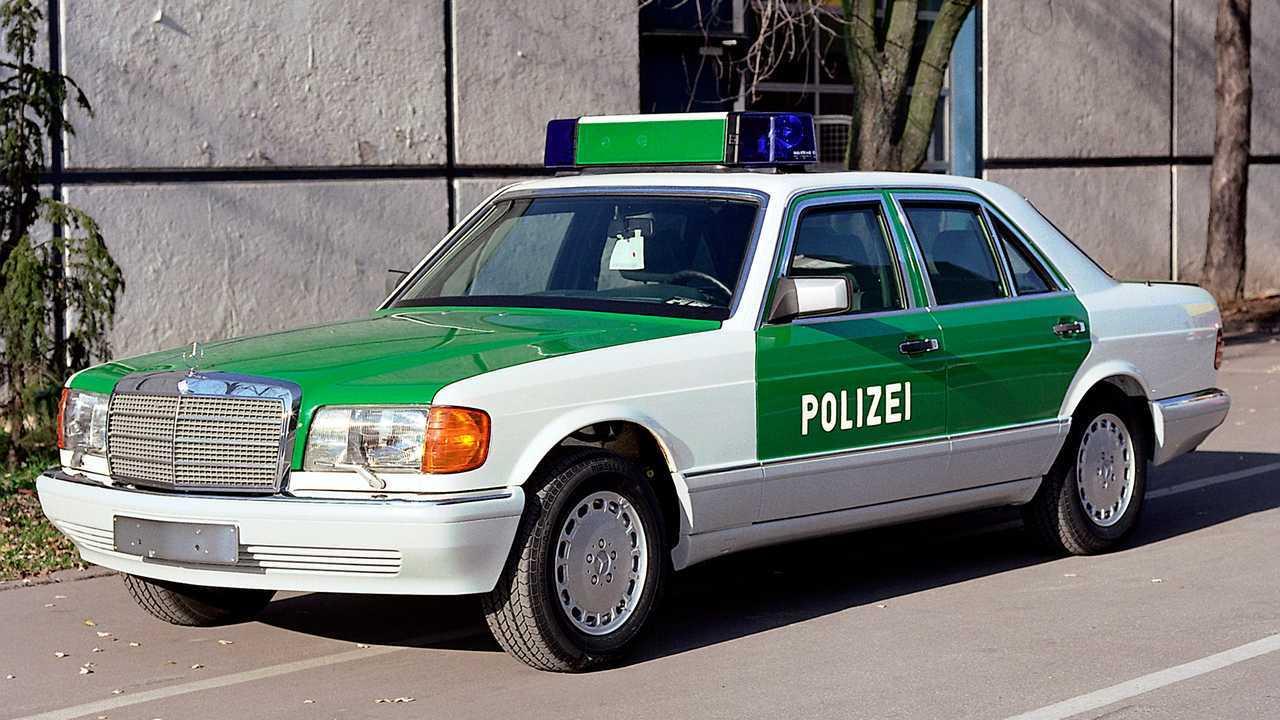 Mercedes-Benz 420 SE (W126) Blindée
