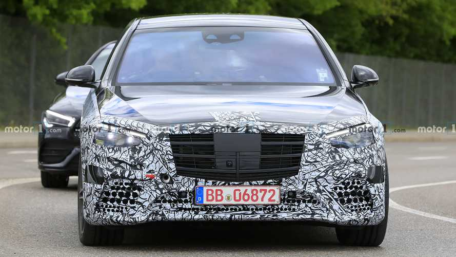 Photos espion Mercedes-Benz Classe S - Mai 2020