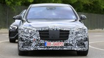 2021 Mercedes S-Class Sedan new spy photos