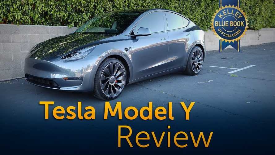 Tesla Model Y Road Test & Review Video Via Kelley Blue Book