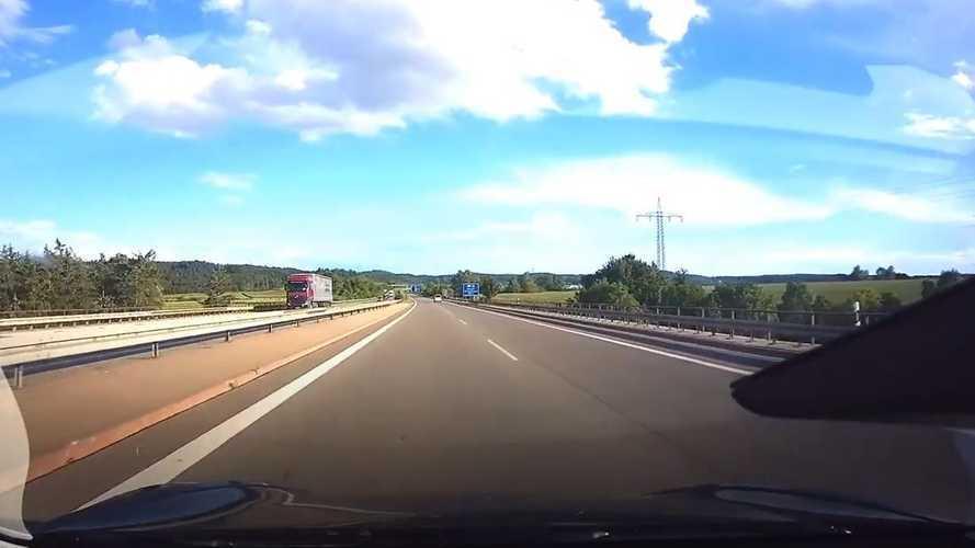 Exclusive Tesla Model 3 Performance Autobahn POV top speed attempts