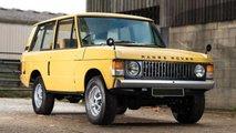 Range Rover, tutte le foto dal 1970 al 2020