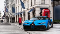 Bugatti Chiron Pur Sport shown in London