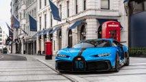 Bugatti Chiron Pur Sport shown in London