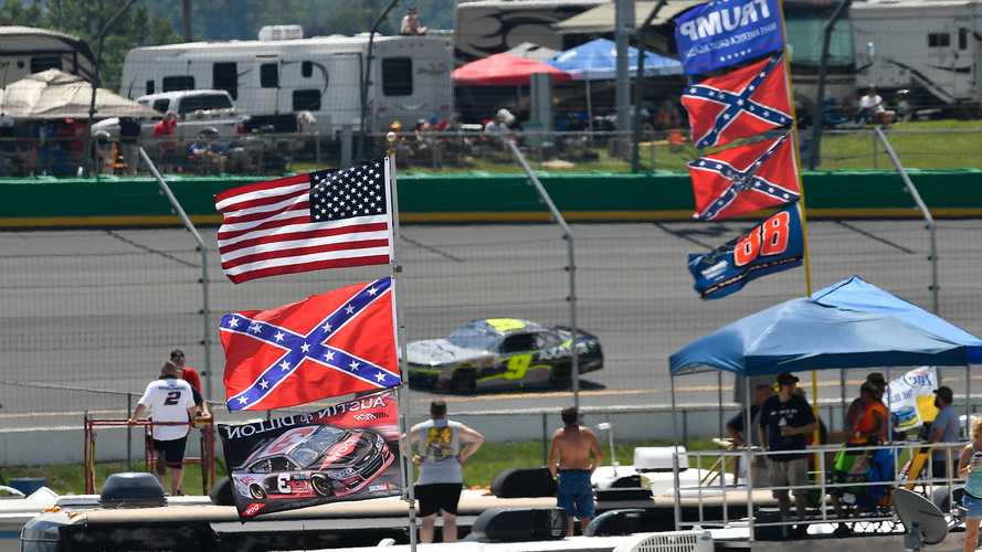 NASCAR Bans The Display Of Confederate Flags At All Tracks