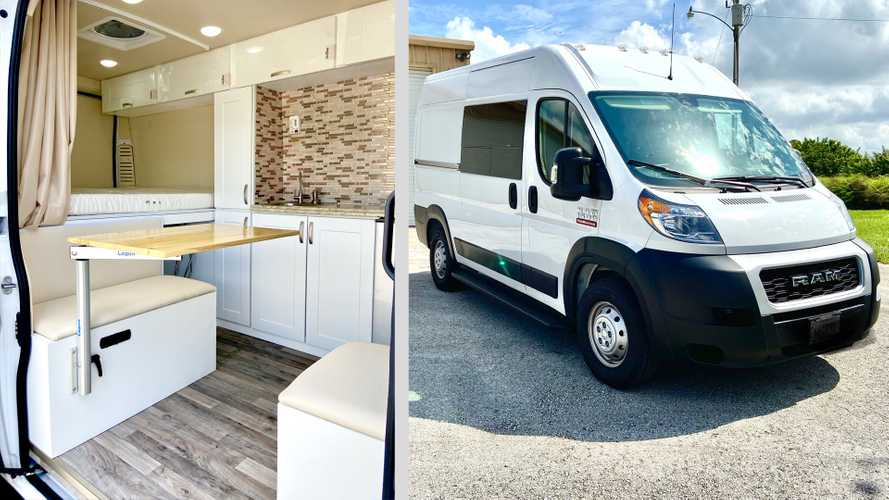This Is The Best Ram ProMaster Camper Van Layout We've Ever Seen