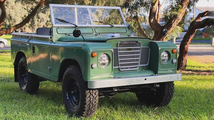 Aussie shop is working to electrify the classic Land Rover Series 2